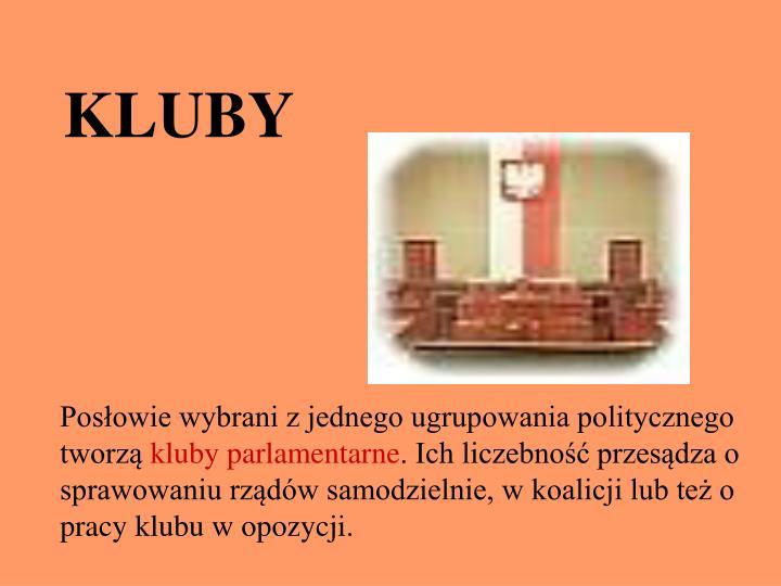 KLUBY