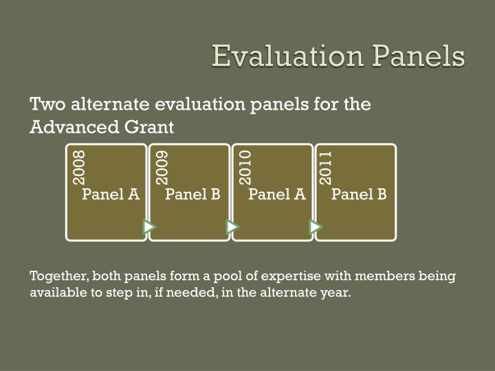 Evaluation Panels