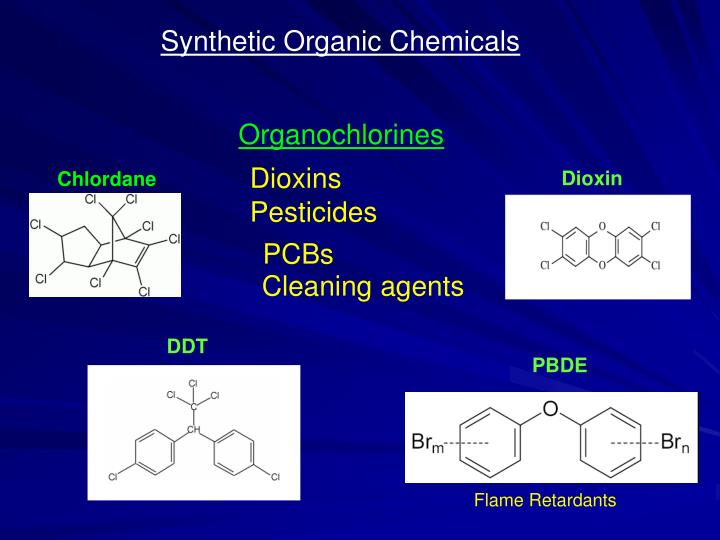 Synthetic Organic Chemicals