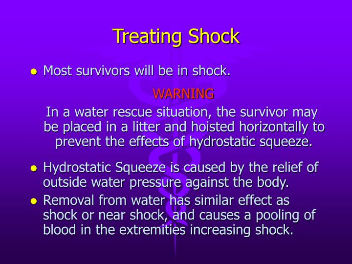 Treating Shock