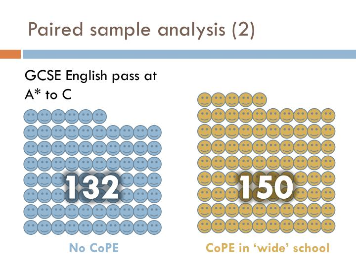 Paired sample analysis (2)