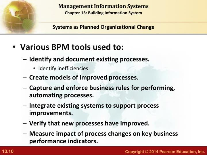 Systems as Planned Organizational Change