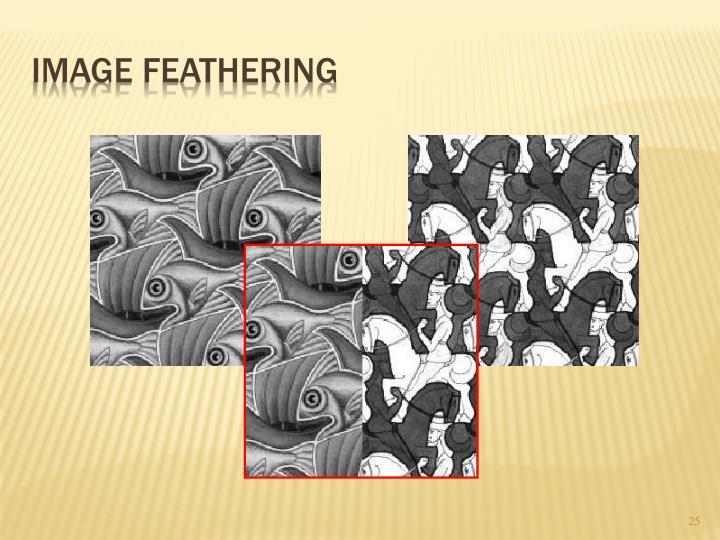 Image Feathering