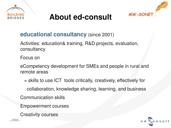 About ed-consult