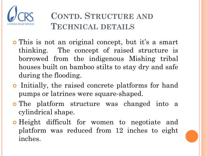 Contd. Structure