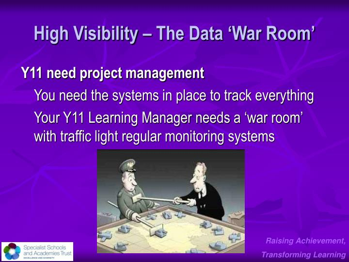 High Visibility – The Data 'War Room'
