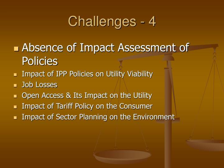Challenges - 4
