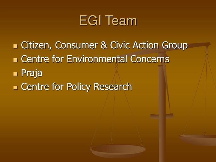 EGI Team
