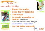 outils mis disposition