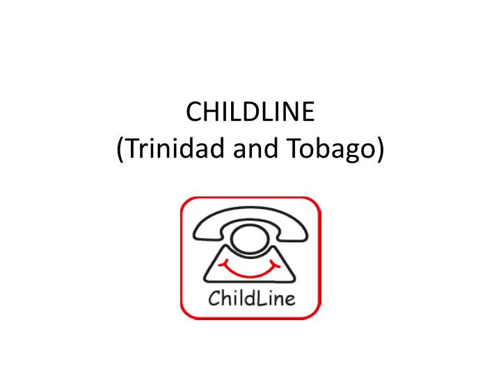 Childline trinidad and tobago