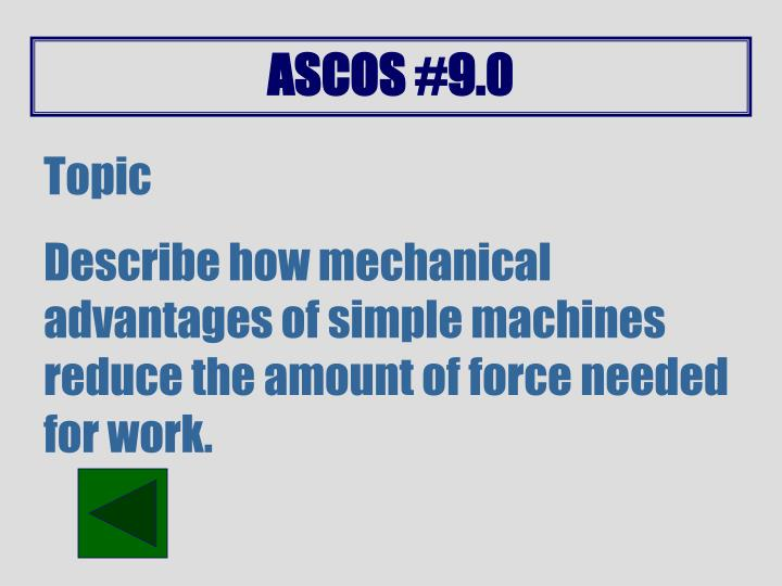 ASCOS #9.0