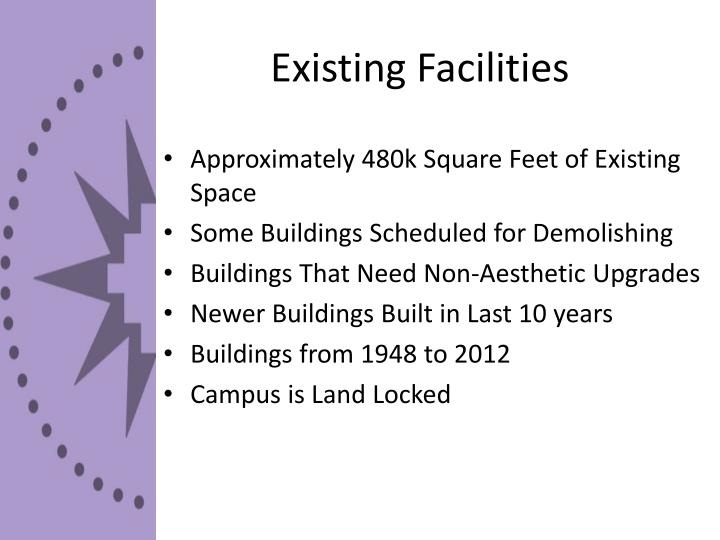 Existing Facilities