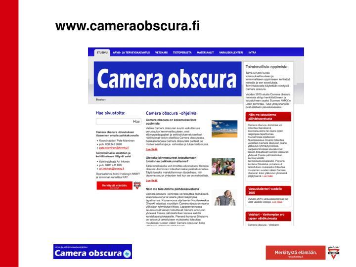 www.cameraobscura.fi
