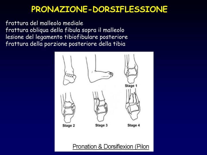 PRONAZIONE-DORSIFLESSIONE