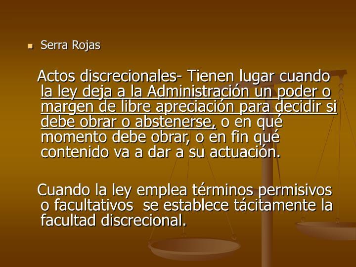 Serra Rojas