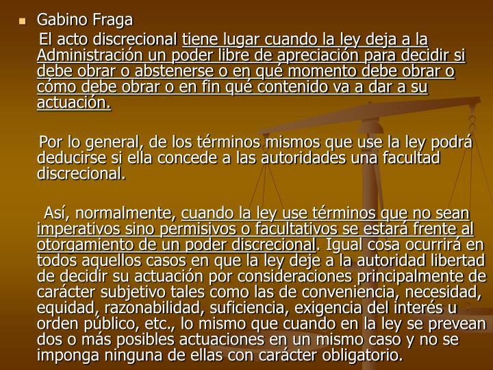 Gabino Fraga
