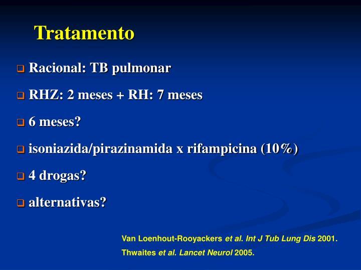 Racional: TB pulmonar