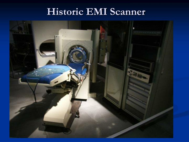 Historic EMI Scanner