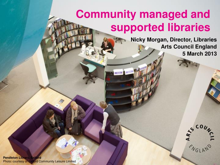 Community managed and supported libraries