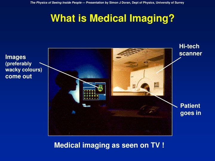 What is Medical Imaging?