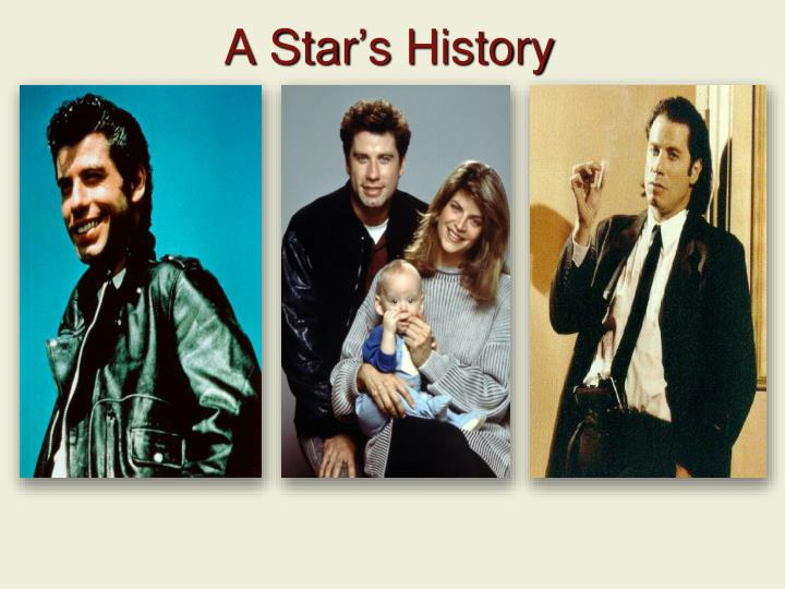 A Star's History