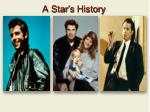 a star s history