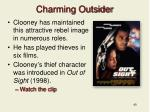charming outsider