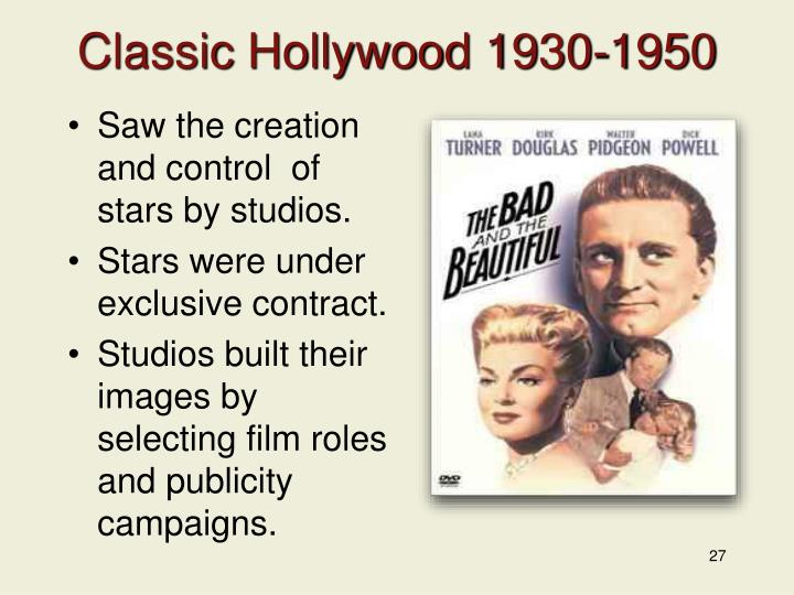 Classic Hollywood 1930-1950