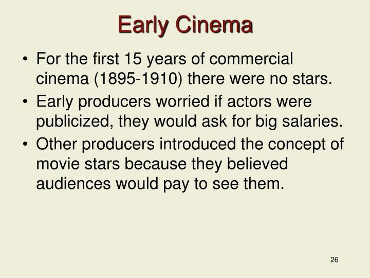 Early Cinema