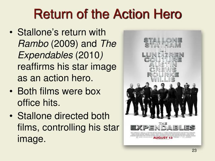 Return of the Action Hero