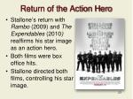 return of the action hero