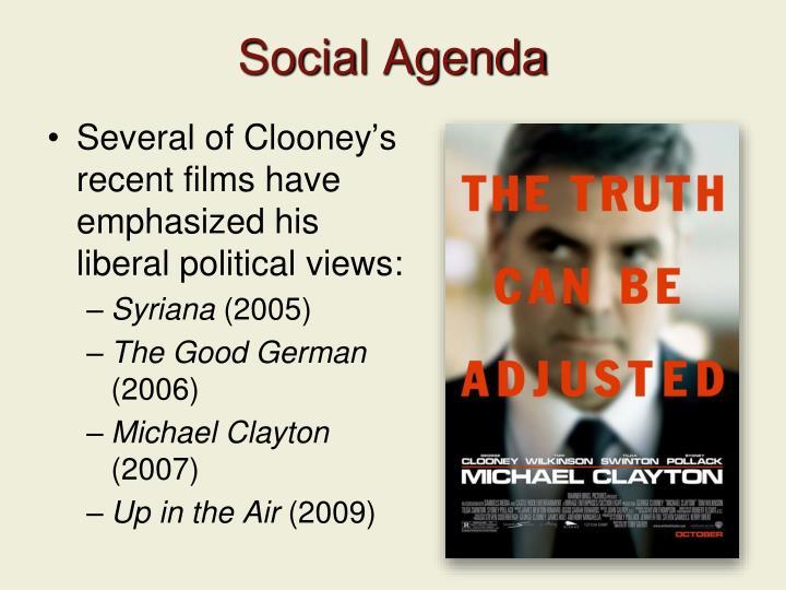 Social Agenda