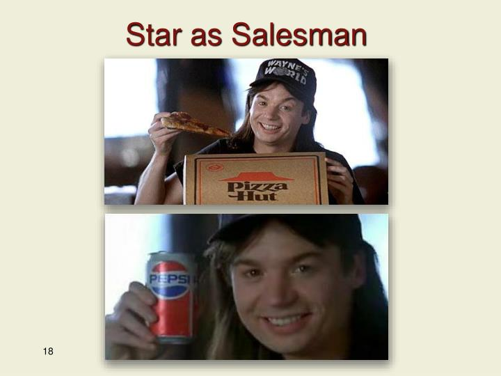 Star as Salesman