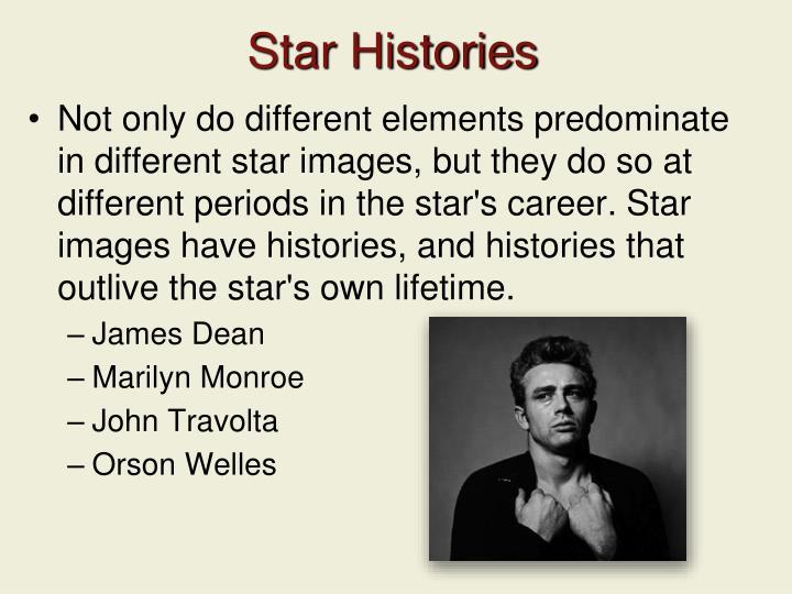 Star Histories