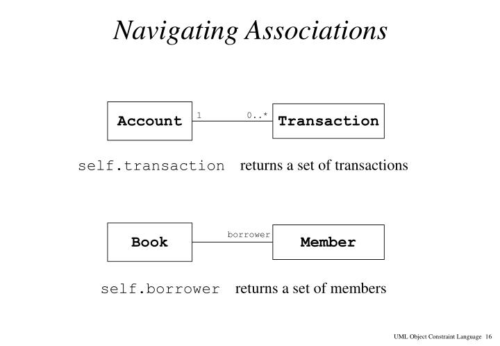 Navigating Associations
