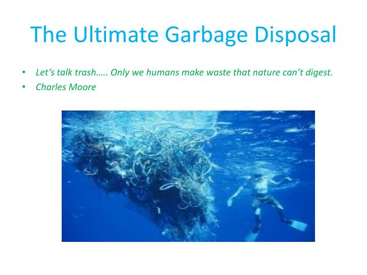 The ultimate garbage disposal