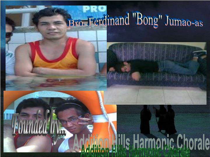 "Bro. Ferdinand ""Bong"" Jumao-as"