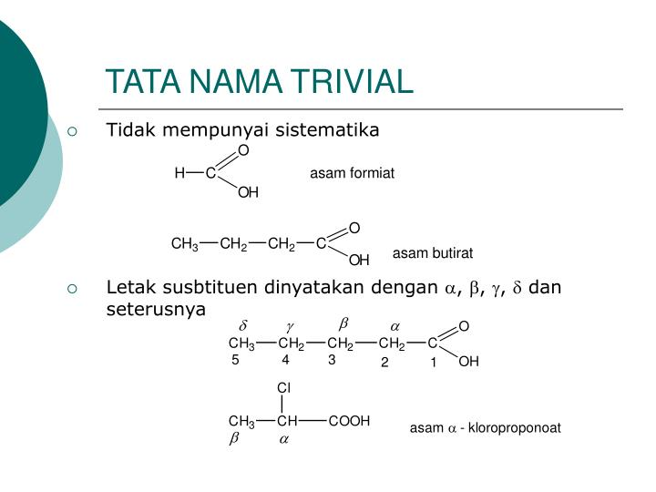 TATA NAMA TRIVIAL