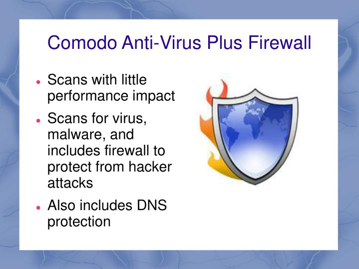 Comodo Anti-Virus Plus Firewall