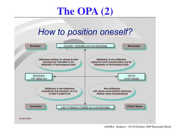 The OPA (2)