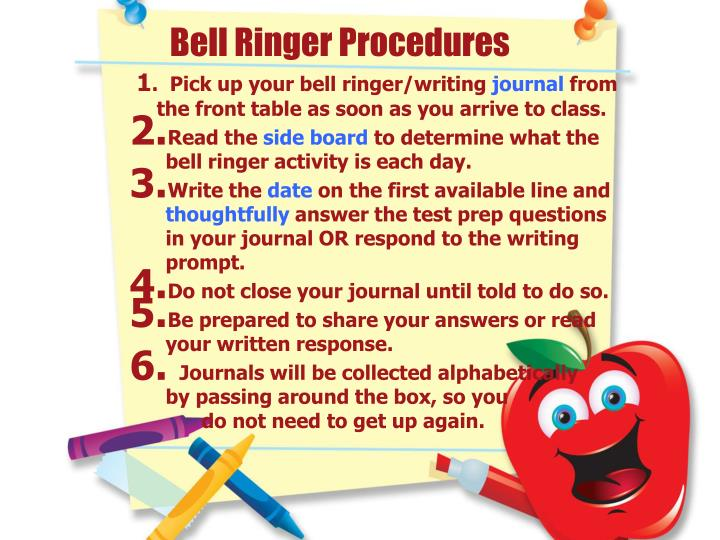 Bell Ringer Procedures