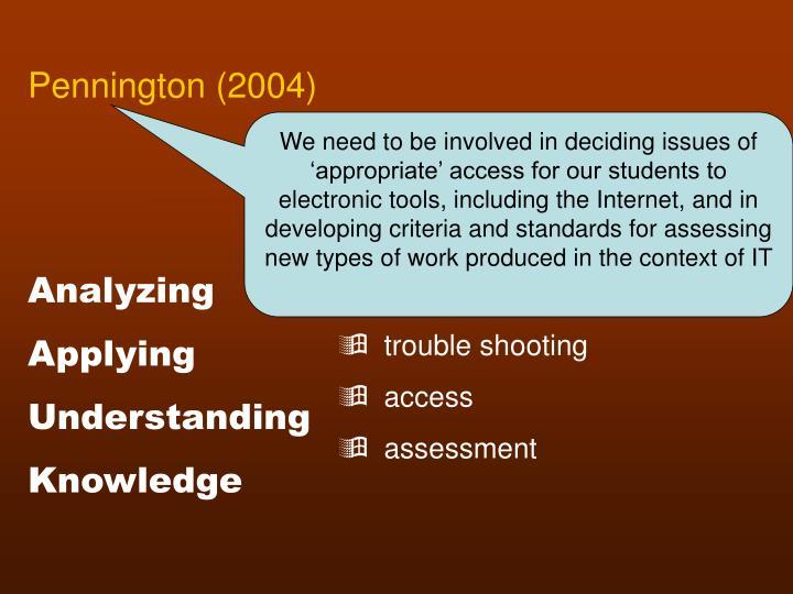 Pennington (2004)