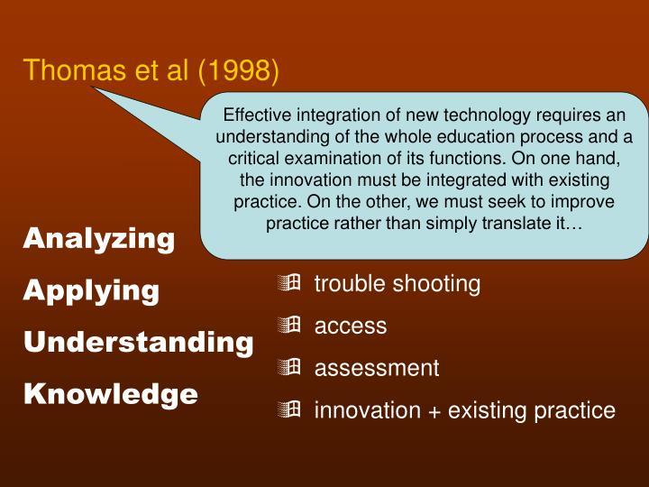 Thomas et al (1998)