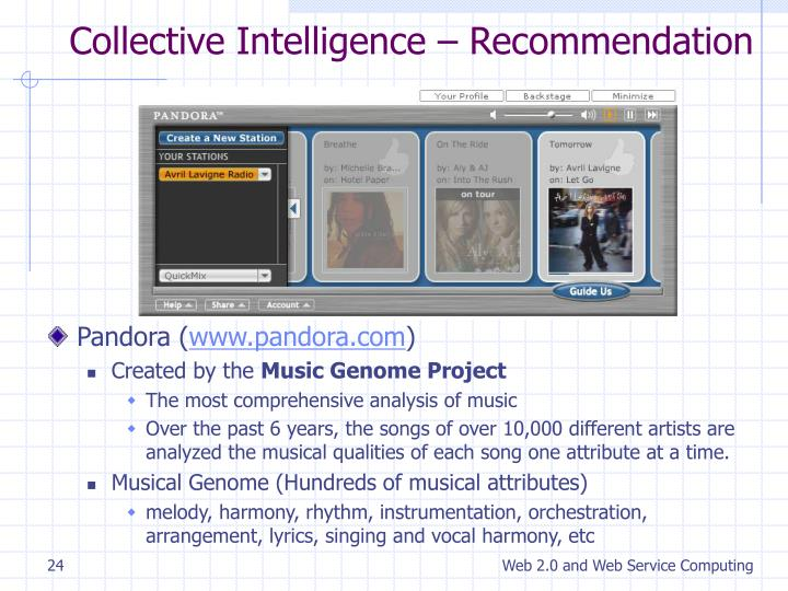 Collective Intelligence – Recommendation