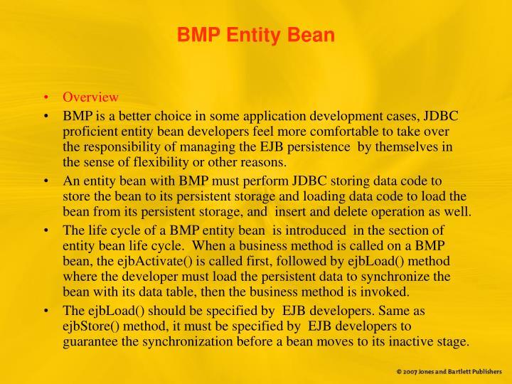 BMP Entity Bean