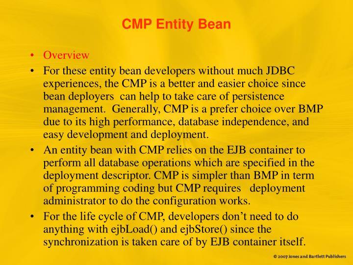 CMP Entity Bean