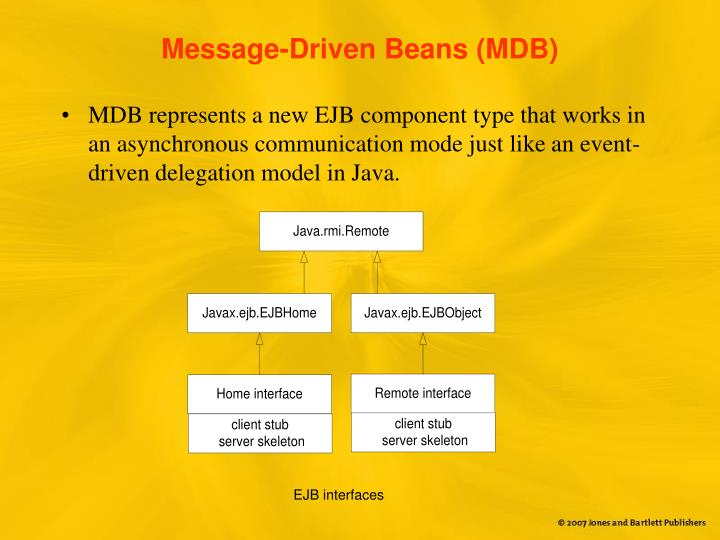 Message-Driven Beans (MDB)