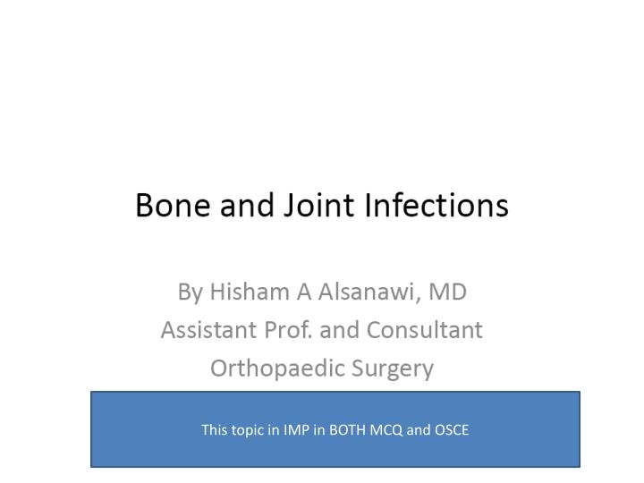 This topic in IMP in BOTH MCQ and OSCE