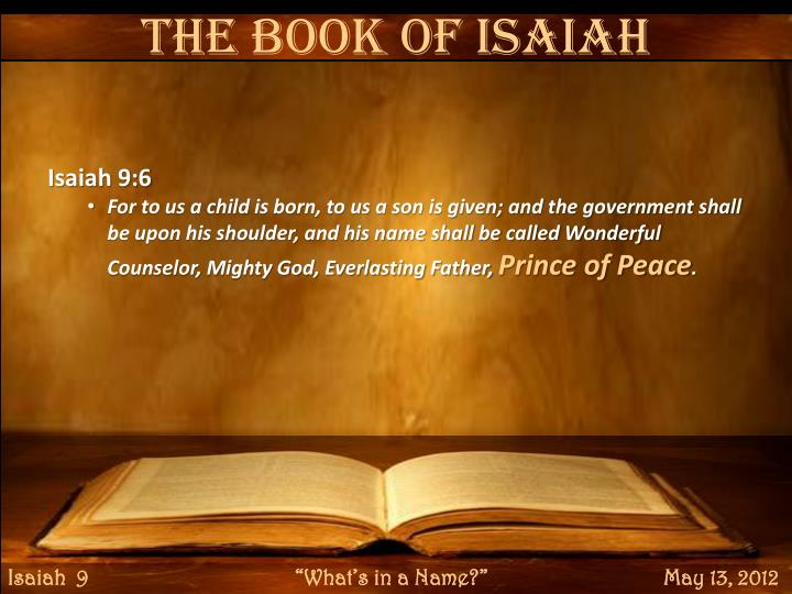 The Book of Isaiah