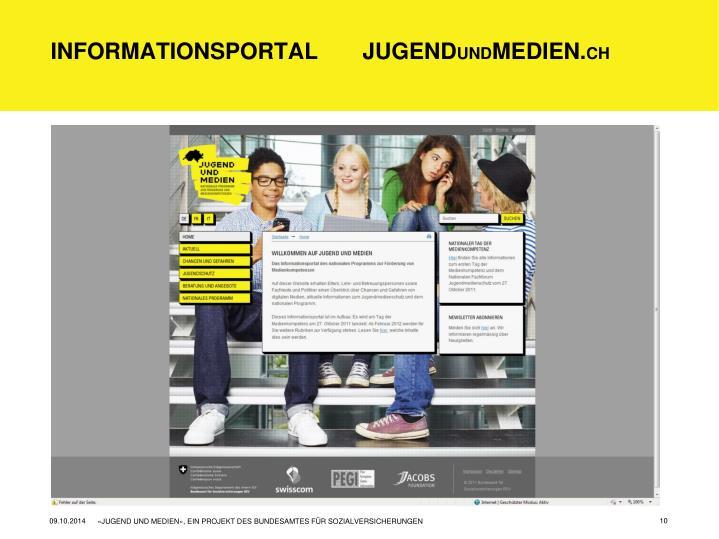 Informationsportal       Jugend